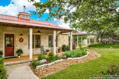 Boerne Single Family Home For Sale: 1207 Breeze Way