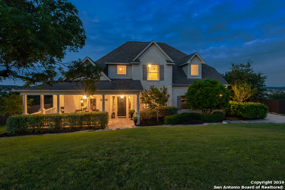 Boerne Single Family Home For Sale: 9007 Woodland Pass
