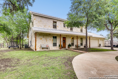Helotes Single Family Home Active Option: 15285 Flying Circle