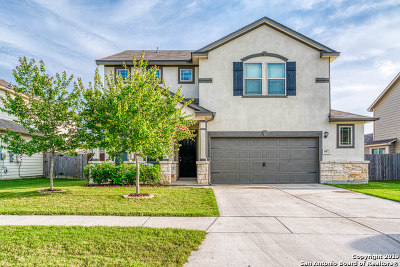 Converse Single Family Home Active Option: 9872 Red Iron Creek