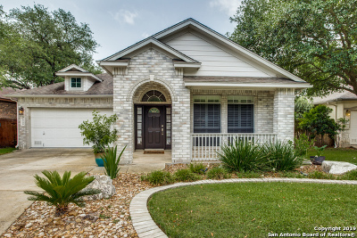 San Antonio Single Family Home Active Option: 18706 Rogers Pass