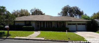Windcrest Single Family Home For Sale: 5930 Windhaven Dr