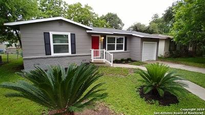 San Antonio Single Family Home Back on Market: 366 Gazel Dr