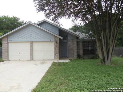 Schertz, Cibolo Single Family Home Active Option: 3808 Olde Moss