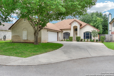 Helotes Single Family Home New: 12814 Red Clay