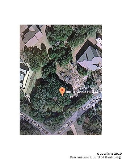 San Antonio Residential Lots & Land New: 10010 Scenic Hills Dr