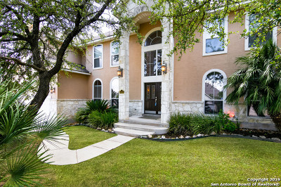 Helotes Single Family Home Price Change: 8455 Magdalena Run