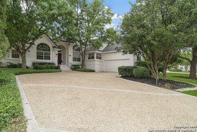 Stone Oak Single Family Home Active Option: 1203 Loststone