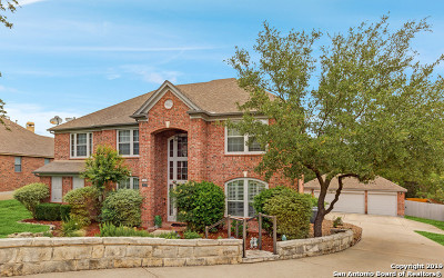 Boerne Single Family Home Price Change: 8915 Woodland Pass