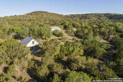 Wimberley Single Family Home For Sale: 1800 Montell Rd
