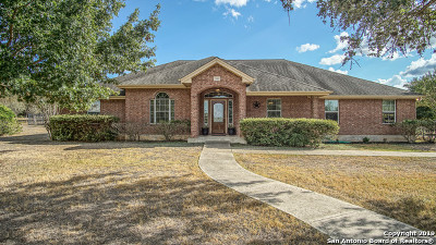New Braunfels Single Family Home Price Change: 255 Texas Country Dr
