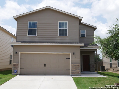 Schertz Single Family Home New: 479 Walnut Crest