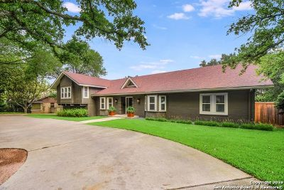San Antonio Single Family Home New: 121 Laburnum Dr