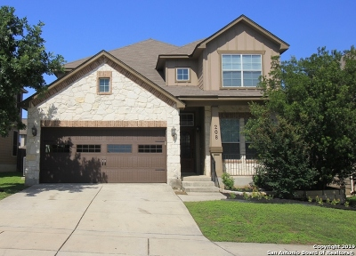 Cibolo Single Family Home New: 208 Dove Run