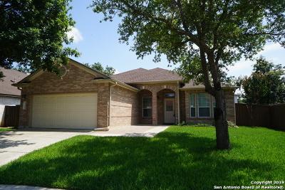 Helotes Single Family Home Active Option: 9340 Cedar Pt
