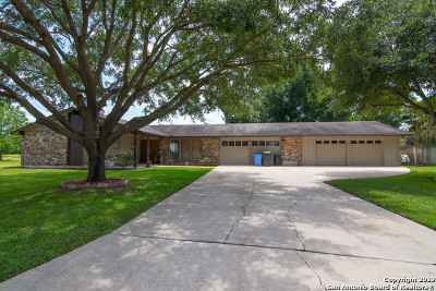 Seguin Single Family Home Active Option: 1721 Willow Creek Rd
