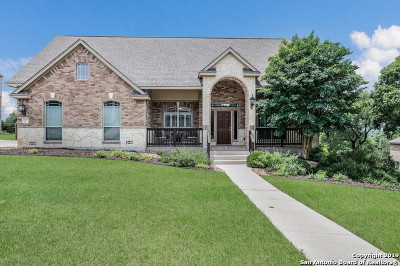 Boerne Single Family Home New: 27607 Heritage Pass