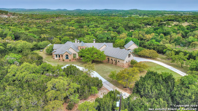 Boerne Single Family Home New: 28421 Bridle Path
