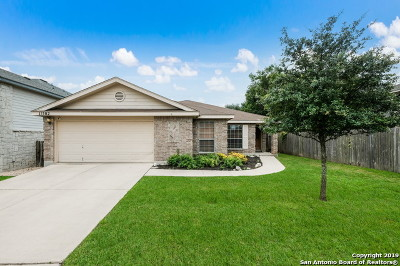 Helotes Single Family Home Active Option: 11502 Claunch