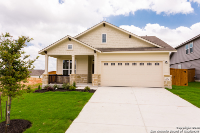 Schertz Single Family Home New: 6776 Concho Creek
