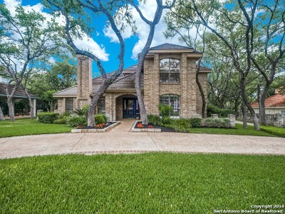 San Antonio Single Family Home New: 4 Vintage Oaks