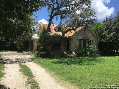 Boerne Single Family Home For Sale: 960 School St