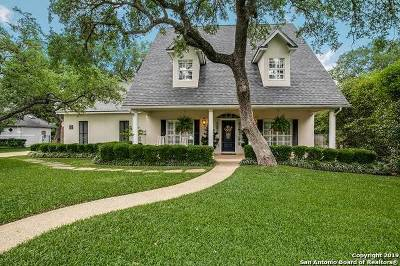 San Antonio Single Family Home For Sale: 22 Park Deville