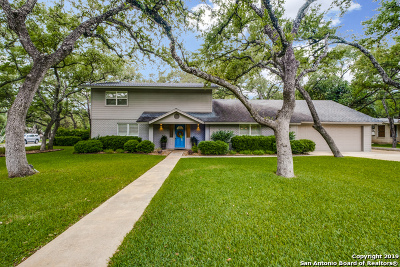 San Antonio Single Family Home New: 107 William Classen Dr