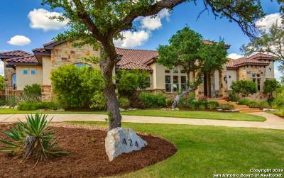 Menger Springs Single Family Home For Sale: 424 Menger Springs