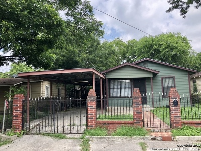 San Antonio Single Family Home New: 321 Huntington