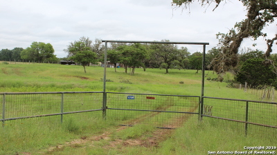 Pipe Creek Farm & Ranch For Sale: 1739 Rohrbuch Rd