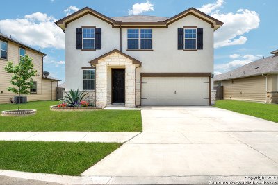 Converse Single Family Home New: 9830 Red Iron Creek