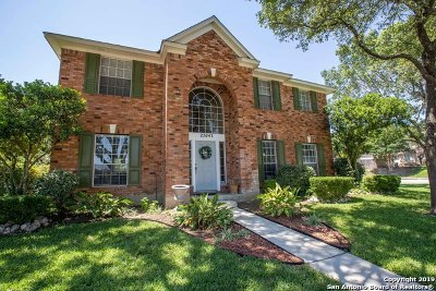 Stone Oak Single Family Home New: 25043 Arrow Glen