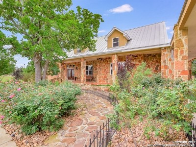 Boerne Single Family Home New: 131 Siebeneicher Rd