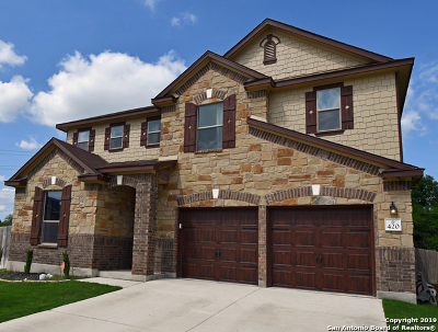 Cibolo Single Family Home New: 420 Landmark Oak