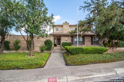 Windcrest Single Family Home For Sale: 8539 Eagle Crest Blvd