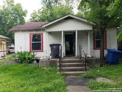 San Antonio Single Family Home Back on Market: 506 McCauley Blvd
