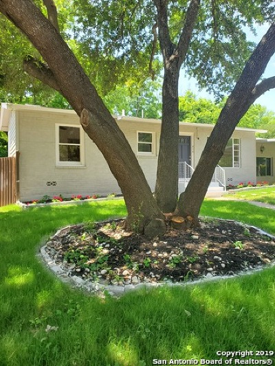 San Antonio Single Family Home Back on Market: 434 Adrian Dr