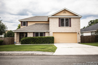 Helotes Single Family Home Active Option: 11438 Tijeras