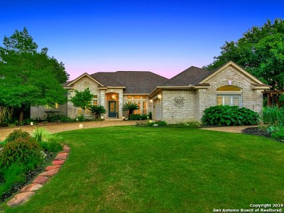 Fair Oaks Ranch Single Family Home New: 30322 Fairway Run