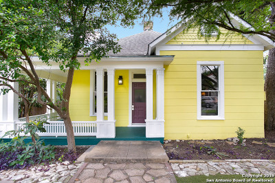 San Antonio Single Family Home Back on Market: 216 W Magnolia Ave