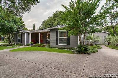 Alamo Heights Single Family Home New: 217 E Elmview Pl