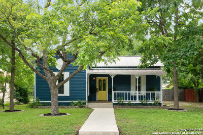 New Braunfels Single Family Home New: 771 W Mill St