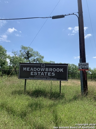 Atascosa County Residential Lots & Land For Sale: 275 Brook Meadows