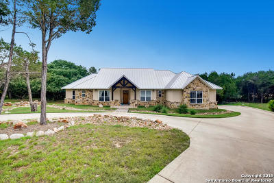 New Braunfels TX Single Family Home New: $650,000