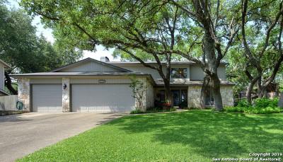 San Antonio Single Family Home New: 13746 Oak Pebble