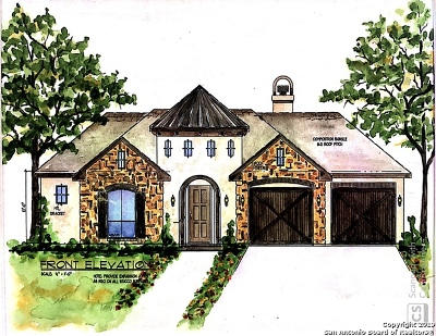 New Braunfels Single Family Home For Sale: 1330 River Place Drive
