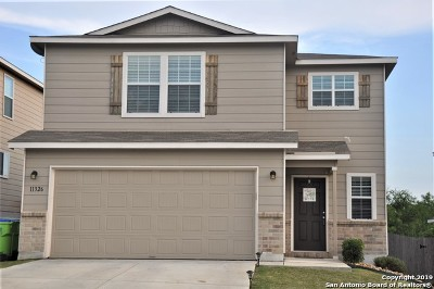 San Antonio Single Family Home New: 11326 Fine Design