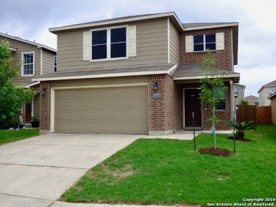 San Antonio Single Family Home New: 11823 Pure Silver