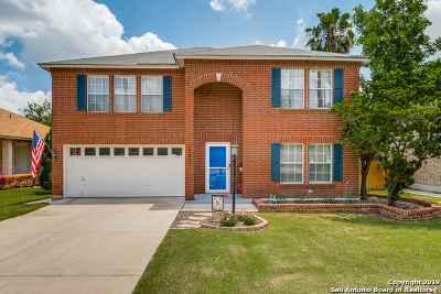 Schertz Single Family Home New: 1547 Jasmine
